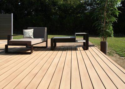 Terrasse lame bois composite